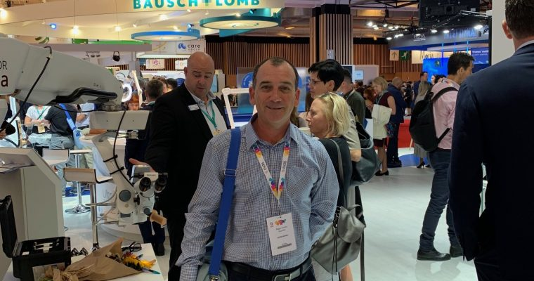 Central Coast Day Hospital Attends Annual ESCRS Conference