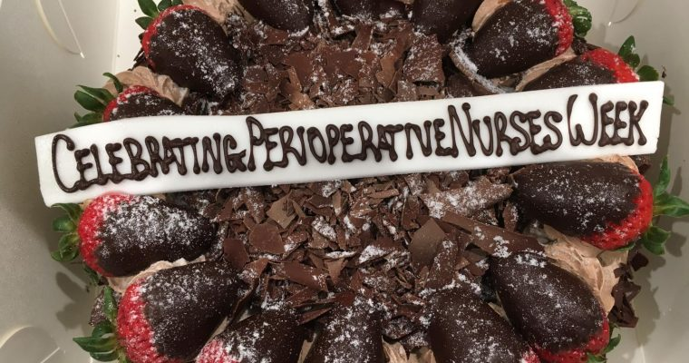 Central Coast Day Hospital Celebrates Perioperative Nurses Week 2018